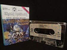 IRON MAIDEN Live After Death / 1990 / MC CASSETTE