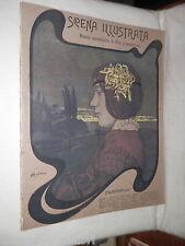 SCENA ILLUSTRATA 1 Ottobre 1906 Andreini Monaldeschi Tocagni Richtman Marina USA