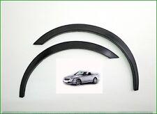 Mercedes-Benz SLK R170 '96-04 Radlaufleisten 4 Stück Schwarz matt