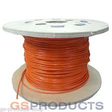 1.2-2mm 7x7 De Acero Inoxidable Naranja Recubierto Con Pvc De Cuerda de alambre price/metre libre de envío