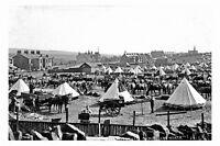 pt2258 - Edgworth Territorial Camp in 1914 , Lancashire - photograph 6x4