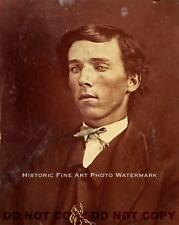 BILLY THE KID EARLIEST KNOWN PHOTO GUNMAN AMERICA OUTLAW GUNFIGHTER c1877 #20816