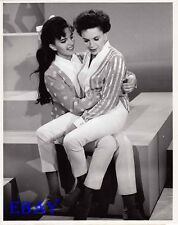 Judy Garland Liza Monnelli VINTAGE Photo candid on set of CBS TV show circa 1963