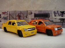 Chevrolet Avalanche with Black wheels 1:24th scale