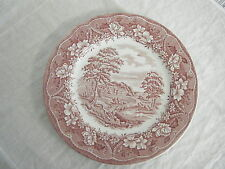 C4 Pottery Barratts Old Castle Dinner Plate Large 26cm 6F2C