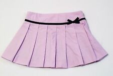 """Gymboree """"European Holiday"""" Lavender Pleated Lined Skirt, 4"""