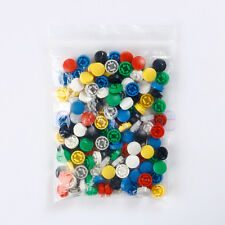 140pcs Round Mixed Color Tactile Button Caps Kit For 12x12x7.3mm Tact Switch HM