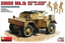 Miniart 35067 1/35 Dingo Mk.1b British Scout Car w/Crew