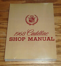 1968 Cadillac Shop Service Manual 68