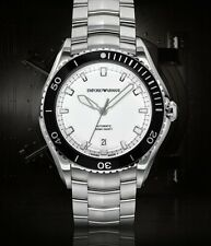 EMPORIO ARMANI Swiss Made AUTO Steel Gents Watch ARS9003 - RRP £795 - NEW