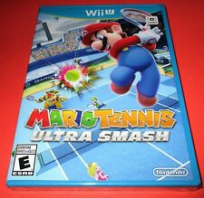 Mario Tennis: Ultra Smash Nintendo Wii U *Factory Sealed! *Free Shipping!