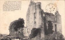 SAINT-FULGENT 1198 ruines du château du puy-greffier écrite 1917