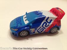 Pixar Cars 2 Movie Raoul Caroule World Grand Prix Race Car Diecast 1:55
