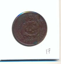 CHINA OLD CHINESE TAI-CHING TI-KUO 10 TEN CASH COPPER COIN