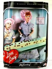 NIB BARBIE DOLL 1998 I LOVE LUCY EPISODE 39 JOB SWITCHING