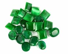 Natural 100 Ct loose Finest Green Colombian Emerald Calibrated Lot