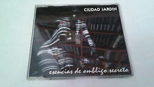 "CIUDAD JARDIN ""ESENCIAS DE OMBLIGO SECRETO"" CD SINGLE 4 TRACKS"
