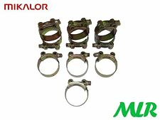 Mikalor 64-67mm Heavy Duty De Escape Boost abrazadera Clip Paquete De 10 mlr.lc