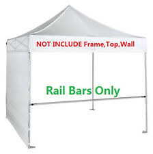 Support Rail Bar 2pc-pack ON SALE for 10x10 Ez Pop Up Canopy Tent with Carry Bag