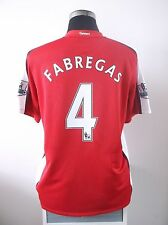 Cesc FABREGAS #4 Arsenal Home Football Shirt Jersey 2008-2010 (L)
