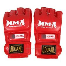 Adjustable MMA Muay Thai Gym Punching Bag Half Miin Sparring Kick Boxing Gloves