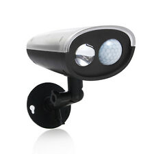 LED Solar Powered Motion Sensor Security Flood Light Outdoor Induction Lamp