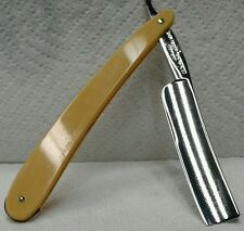 "Super Nice Lyons Brand Magnetized German Straight Razor 5/8""  Factory Scales"