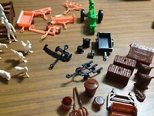"Marx ""Farm Accessories Over 25 Pieces. !!! FREE SHIPPING !!!"