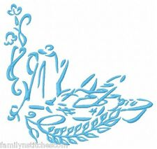 Outline Kitchen Time Machine Embroidery Designs on multi-formatted CD in 3 sizes