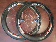 ZIPP 404 700 TUBULAR 10 SPEED CAMPAGNOLO WHEELS SET ZIPP TANGENTE CORESPUN TIRES
