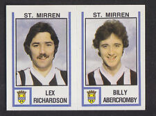 Panini - Football 81 - # 542 Richardson / Abercromby - St Mirren