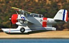 """Grumman j2f-6 Duck 58 """"WS scratch construire r / c avion plans et modèles"""