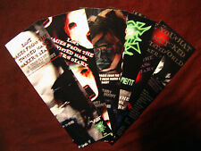 1 Paranormal Bookmark from a dybbuk haunted book Mask Maker's Curse Creepypasta