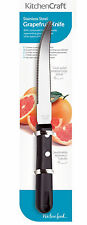 Sale! Kitchen Craft 19cm Stainless Steel Dble Edged Grapefruit Segmenter Cutlery