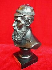 W G GRACE CRICKET PLAYER BUST MODEL STATUE WITH COLLECTORS CARD RARE WG W.G.