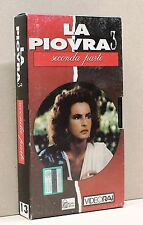 LA PIOVRA 3 - seconda parte 13 [vhs, video rai, hobby & work]