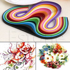 240 Stripes Quilling Paper 5mm Width Mixed Color For DIY Craft 24 Colors HOT