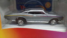 Hot Wheels LEXMARK '67 Pontiac GTO Silver VARI 1967 w/RR Real Rubber Tires