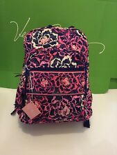 NWT Vera Bradley Large Campus Backpack in Katalina Pink