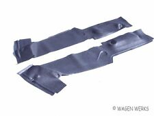 VW Type 2 Seat Stand Surround Mats - Black  Bus 1968 to 1976