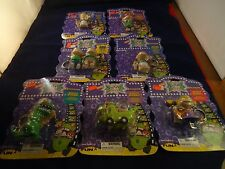Rugrats Keychain Set of 7 Brand New Tommy Chuckie Angelica Reptar Wagon Phil Lil