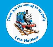 Personalised Thomas the Tank Engine 48mm Birthday Stickers Party Thank You Seals