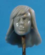 "FH057 Custom Cast Sculpt part Female head cast for use with 3.75"" action figures"