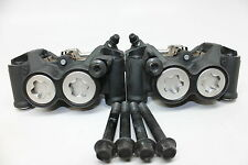 08-16 YAMAHA YZF R6 LEFT& RIGHT FRONT BRAKE CALIPERS LEFT & RIGHT W/BOLTS OEM