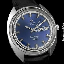 1970's OMEGA SEAMASTER COSMIC 2000 Vintage Large Dive Watch, Day Date- SS Steel