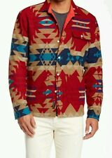 LEVI'S CALIFORNIA x PENDLETON INDIAN BLANKET WOOL WESTERN SHIRT JACKET L lvc vtg