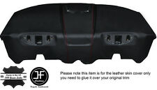 RED STITCH REAR PARCEL SHELF LEATHER COVER FITS ALFA ROMEO GTV 916 PHASE 2