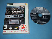 BLITZKRIEG ANTHOLOGY   game for PC DVD-ROM *UKstock*Fast dispatch