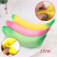 18cm Simulation Banana Squishy Super Slow Rising Kids Toy Phone Pendant