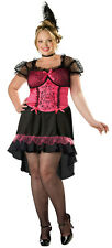 InCharacter Womens Saloon Gal Western Bar Maid Plus Size Adult Costume Size 2X